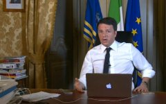 Renzi sui social network: sarà difficile dare gli 80 euro ai pensionati, faremo il ricalcolo delle pensioni retributive, abbasseremo il cano...