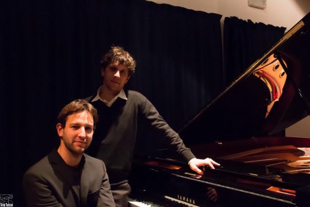 Il pianista Giovanni Nesi e il critico musicale Gregorio Moppi