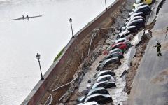 Firenze, voragine lungarno: i radar non hanno rilevato spostamenti del muro di margine. Continua il botta e risposta Nardella - Carfì