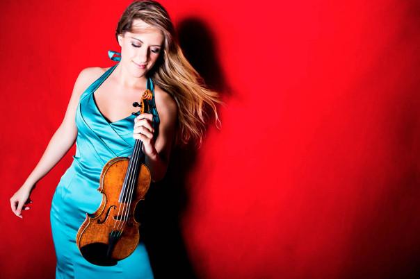La violinista Francesca Dego