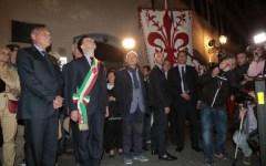 Firenze: il Presidente del Senato commemora la strage di via dei georgofili, visita la voragine del Lungarno Torrigiani e parla di riforme