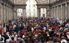 Firenze musei: per ferragosto molti turisti ma poche code