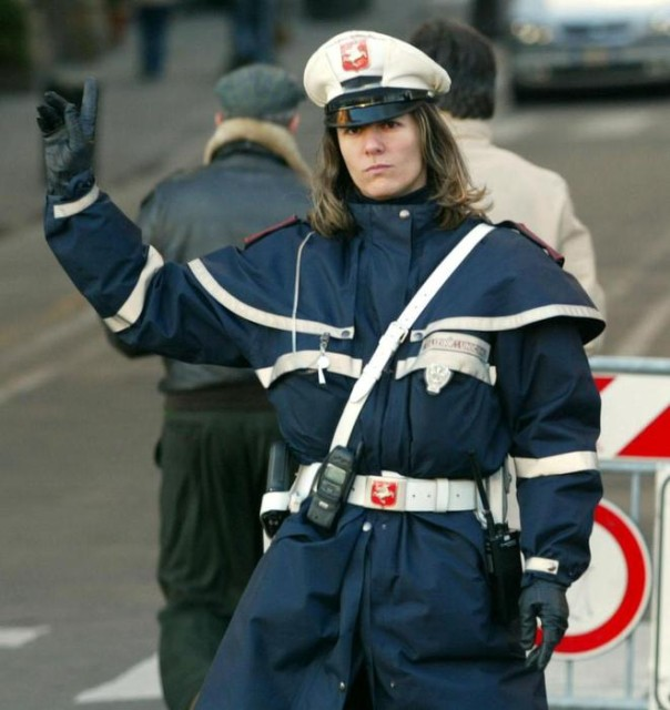 VIGILI URBANI POLIZIA MUNICIPALE FIRENZE