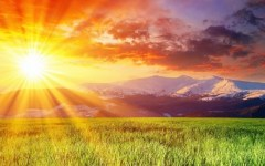 Meteo: arriva il solstizio d'estate. Bel tempo e caldo (34-35°) ma non per molto