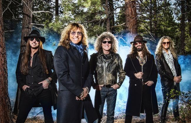 Gli Whitesnake di David Coverdale, in concerto venerdì 15 luglio