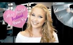 Euro2016: Arna, 21 anni, (Islanda) vince il titolo della donna più bella del campionato (Foto)