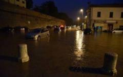 Maltempo, Grosseto: in un'ora (78 mm) caduto il quantitativo di pioggia di due mesi. Allerta arancione fino alle 13 di oggi 10 giugno