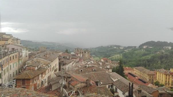 Maltempo su Perugia