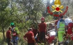 Rignano sull'Arno: travolto dal trattore è trasportato in codice rosso all'ospedale di Careggi