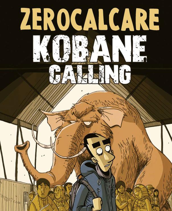 Kobane Calling, la copertina del reportage a fumetti di Zerocalcare