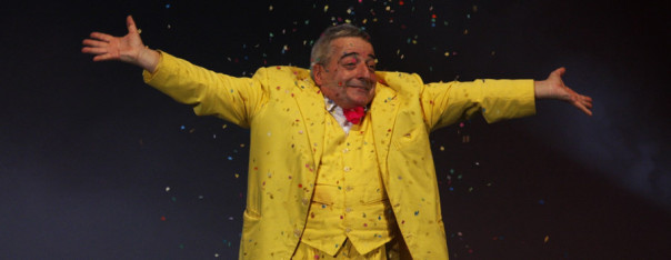 Il mago Bustric, che si esibisce agli Uffizi martedì 26