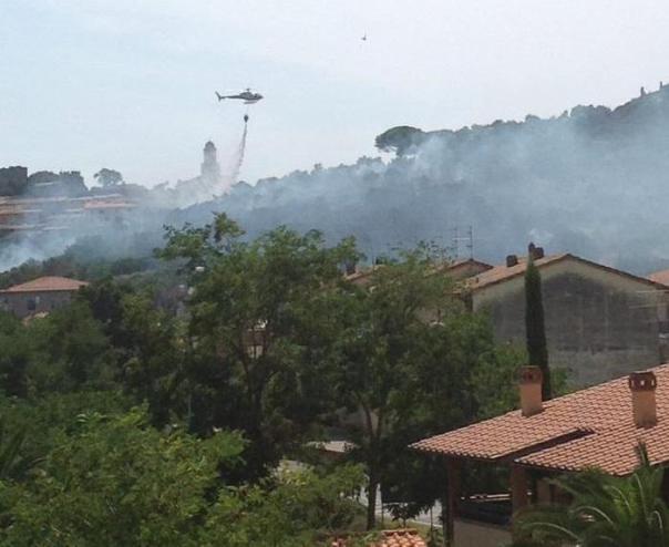 Incendi: Castiglione Pescaia