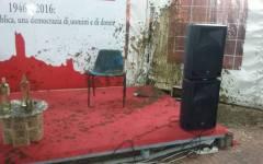 San Miniato: Rossi aggredito con letame alla Festa dell'Unità