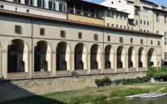 Firenze: davanti agli Uffizi avvallamento sulla strada. Chiuso per un mese il lungarno Anna Maria Luisa de' Medici