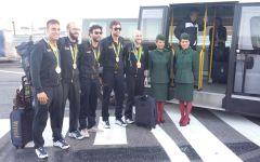 Olimpiadi Rio 2016: Campriani al rientro in Italia, è come se fossi sceso dalle montagne russe