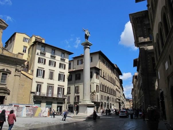 La colonna di Piazza Santa Trinita