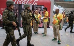 Brasile, Olimpiadi 2016: manifestazioni di protesta a Rio de Janeiro a due giorni dalla cerimonia d'apertura dei Giochi