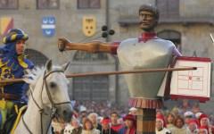 Arezzo, giostra del Saracino: per Porta Santo Spirito un'eccezionale tripletta