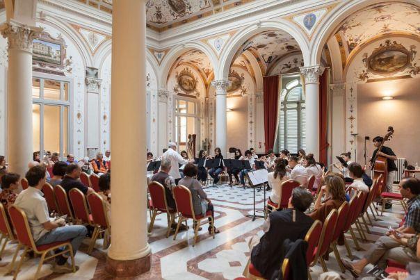 Un concerto del Conservatorio a Villa Favard