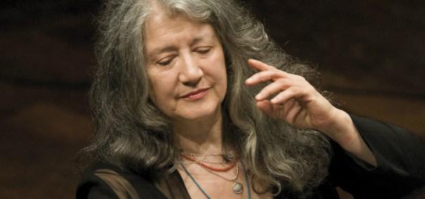 La grande pianista Martha Argerich