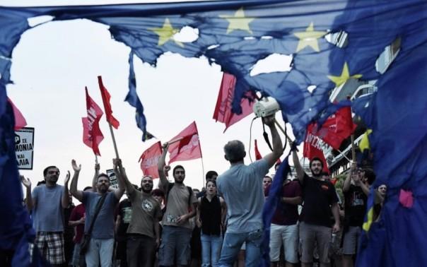 anti-euro-proteste