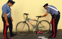Grosseto: 22enne pregiudicato, irregolare  e senza fissa dimora, arrestato e condannato per furto di biciclette