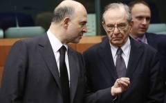 Bratislava Ecofin Ue: il ministro Padoan cerca, finora invano, alleati contro la Germania e la politica di austerity