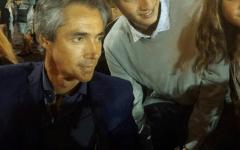 Paulo Sousa a cena con i sanfredianini