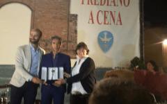 San Frediano a cena, Torrino d'oro a Paulo Sousa: «Un onore essere a Firenze e nella Fiorentina»