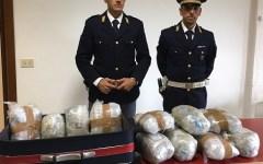 Arezzo: due albanesi arrestati per spaccio di droga dalla polizia stradale