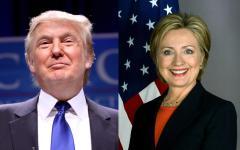 Presidenziali Usa: ultimi sondaggi, testa a testa Clinton (46%) Trump (45%)