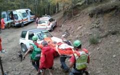 Lucca: cercatore di funghi cade e s'infortuna a 1.450 metri fra Monte Giovo e Cima Olmo. Salvato dal soccorso alpino