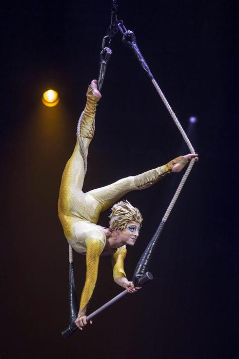 PRESS PREVIEW OF 'VAREKAI' AT MURCIA'S PALACIO DE DEPORTES