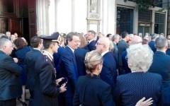 Milano: Caprotti funerali, chiesa di San Giuseppe gremita per l'ultimo saluto
