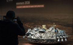 Exomars: la sonda Schiaparelli si sarebbe schiantata su Marte per un problema ai retrorazzi