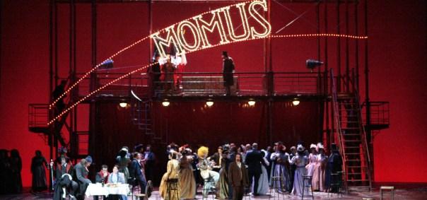 Una scena de «La Bohème» di Puccini