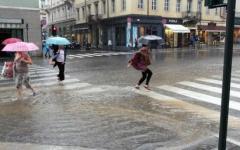 Maltempo in Toscana: codice giallo della Regione per vento forte e temporali