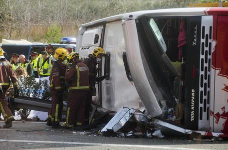 Incidente bus studenti Erasmus in Catalogna, 14 morti