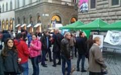 Firenze, referendum: il centrodestra manifesta in Piazza Strozzi per il No
