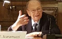 Università Firenze: festa per i 90 anni del professor Franco Scaramuzzi, ex rettore