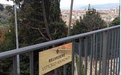 Firenze: nasce il Belvedere intitolato a Vittorio Sermonti. Il tratto iniziale del viale Galileo a chi ha divulgato Dante nel mondo