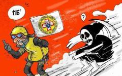 Rigopiano: il sindaco di Amatrice reagisce alla vergognosa vignetta di Charlie Hebdo
