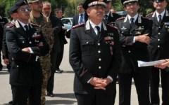 Corpo Forestale: i Carabinieri rendono omaggio ai caduti del Corpo, presente il Comandante Generale Tullio Del Sette