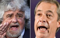 M5S: Grillo molla Farage (euroscettici) e abbraccia Alde, partito che sostiene l'Europa. Proteste nel movimento