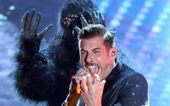 Kiev: Gabbani e la sua scimmia soltanto sesti all'Eurovision Song Contest. Vince il Portogallo