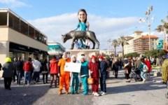 Maltempo Toscana: pioggia, vento e mareggiata, salta a Viareggio la sfilata di Carnevale