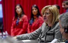 Firenze: Commissaria ue politica regionale, Corina Cretu, in visita alla città