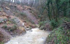 Maltempo, Toscana: fiumi sorvegliati per le forti piogge. Smottamenti a Pietrasanta