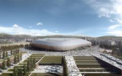 Firenze, ecco il nuovo stadio della Fiorentina: si chiamerà Dante Arena? 40 mila posti. Pronto (chissà...) nel 2021 (Foto)