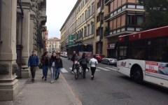 Firenze, lavori p.za D'Azeglio: caos traffico in via Lamarmora, molte le linee degli autobus deviate